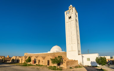 Mosque at Ksar Ouled Boubaker in Tunisia