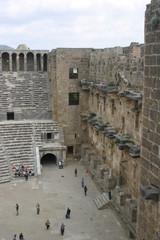 Turquía. Aspendos en Antalya, el Teatro Greco-Romano mejor conservado del Mundo.