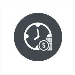 Money icon. Vector Illustration