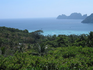 Tailandia. Phi Phi /Koh Phi Phi, islas de Krabi en el mar de Andamán, al sur del pais