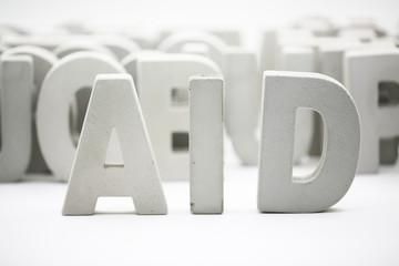 block of word: AID