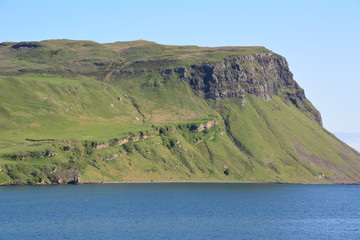 A Scottish Cliff