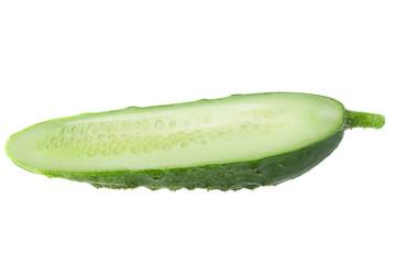 Cucumber vegetable  on white