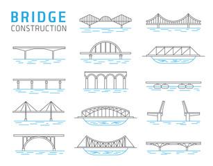 Bridge constructions vector set