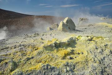 Insel Vulcano und der Gran Cratere