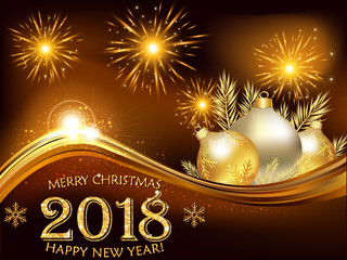 Search photos business greeting card merry christmas and happy new year 2018 corporate greeting card for the holiday season reheart Choice Image