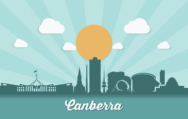 Canberra skyline - Australia