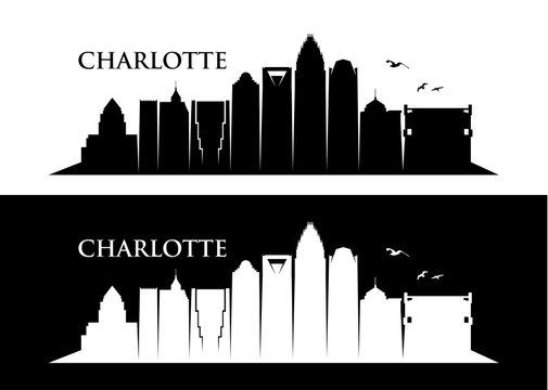 Charlotte skyline, North Carolina