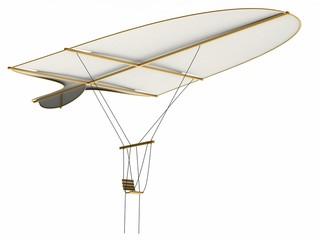 Glider, Leonardo da Vinci, Codex Madrid I / 0064r