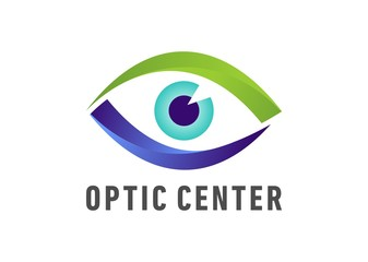 Optic eye center