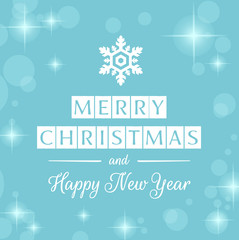Merry Christmas and Happy New Year silver banner, card & background vector vol.27