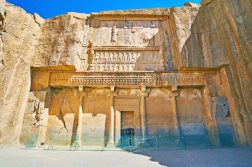 Ancient Tombs in Persepolis, Iran