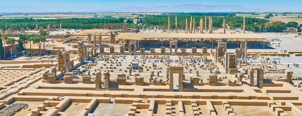Palaces of Persepolis, Iran