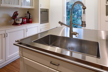 Closeup of sink