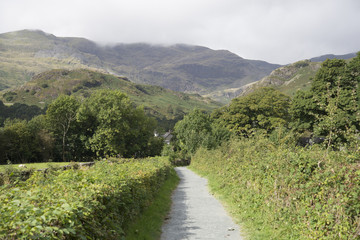 Images from Coniston Lake District to west Scotland