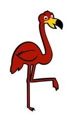 picture flamingo posing