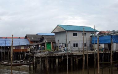 Muslim village, Ko Panyee, Thailand