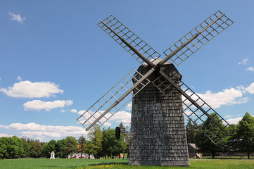Windmühle in Polen