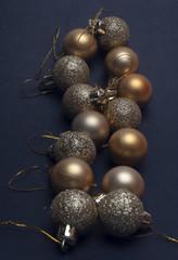 shiny ball for Christmas trees