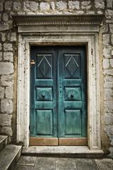 A beautiful old door in Dubrovnik, Croatia.