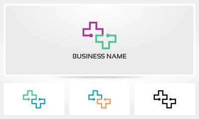 Health Connect Cross Medic Logo