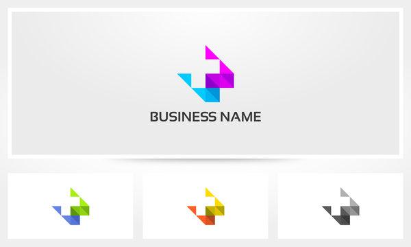 Plus Cross Health Medic Prism Transparent Overlay Logo