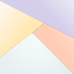 Triangle overlap background with pastel color