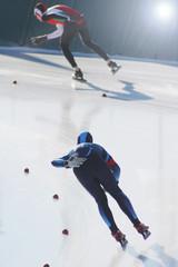 pattinaggio di velocitaà su ghiaccio