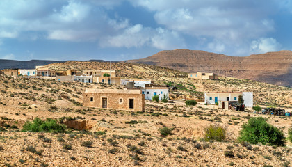 Typical village in South Tunisia, Tataouine Governorate