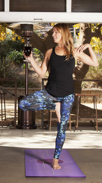 Beer Yoga Class in San Diego, CA