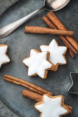 christmas - homemade cinnamon stars
