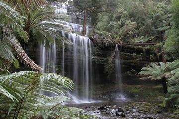 waterfall in south tasmania