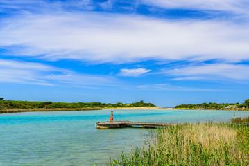 Lorne Queenscliff Coastal Reserve in Anglesea, Australia