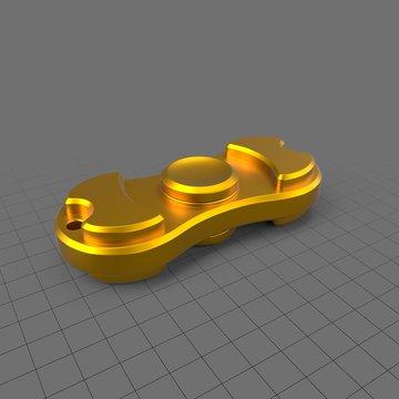 Small gold fidget spinner