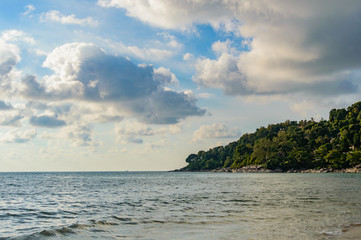 Wall Mural - Bay of tropical ocean with the beach - Thailand, Phuket, Kamala