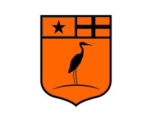emblem stork