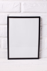 Empty frame mockup  with copy space