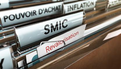 SMIC, Salaire Minimum Interprofessionnel de Croissance