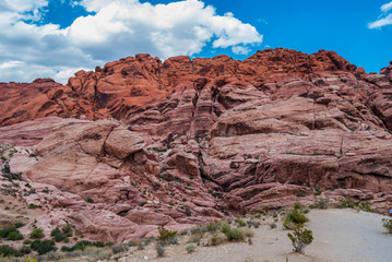 Red Rock Canyon, USA.