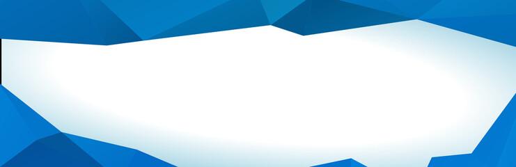 Türaufkleber Flugzeug White Blue Banner Triangular Design Background