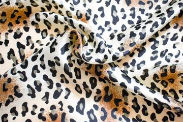 handkerchief in leopard print, fashion accessory clothes