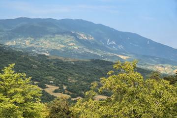 Mountain landscape from Caramanico Terme (Abruzzi, Italy)
