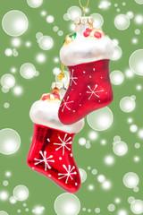 Rote Nikolausstiefel