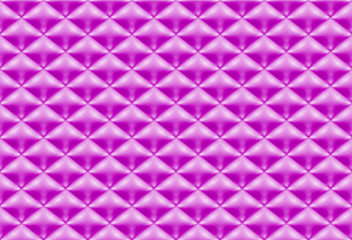Seamless pattern purple quilted fabric
