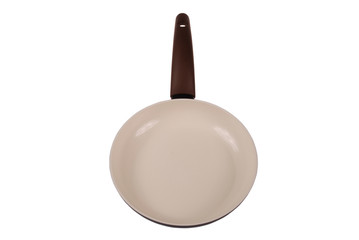 Photo of brown ceramic frying pan