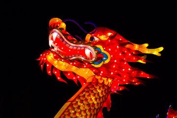 Dragon Chinese Lantern Festival New Year Celebration