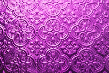 Vintage Glass Background Interior Wall Decoration 3D Pattern Abstract Floral