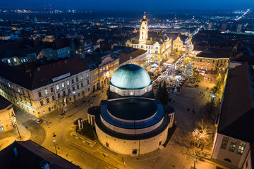 Advent in Pecs, Hungary