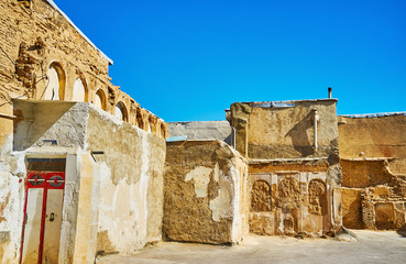 Old buildings in Shiraz, Iran