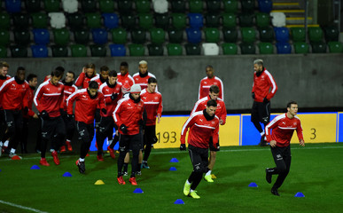 2018 World Cup Qualifications - Europe - Switzerland Training